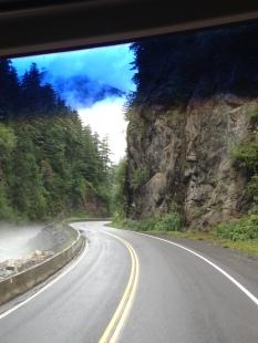 Cassiar Hwy into Stewart, BC