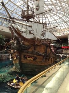 The Santa Maria, at West Edmonton Mall
