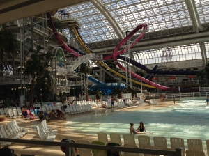 The beach at West Edmonton Mall