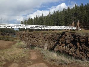 Suspension bridge - Miles Canyon, Whitehorse, YT
