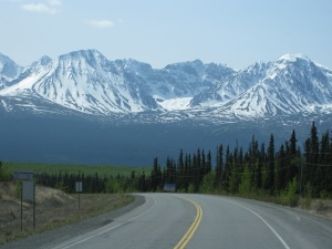 From Whitehorse to Kluane Lake, YT