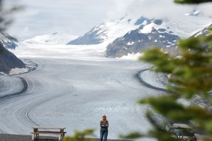 Top of the Road, Salmon Glacier
