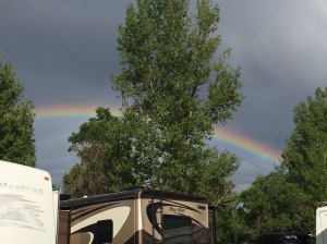 Rainbow At Bozeman campground